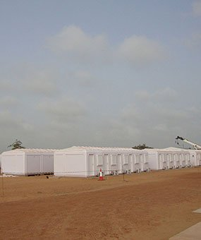 Installation of Modular Management Cabins Completed In Senegal