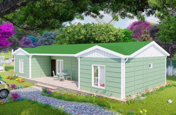 102 m2 Single Story Modular Home