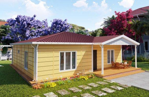 103 m2 Single Story Modular Home