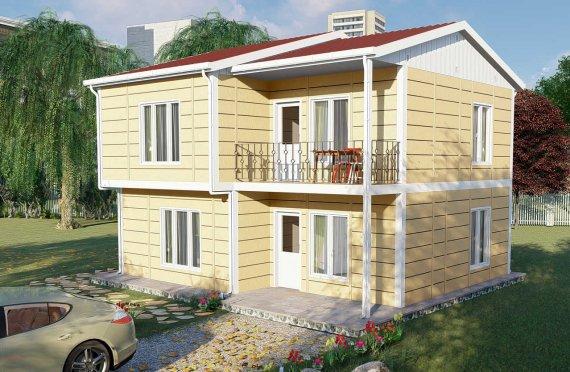 137 m2 Prefabric Villa
