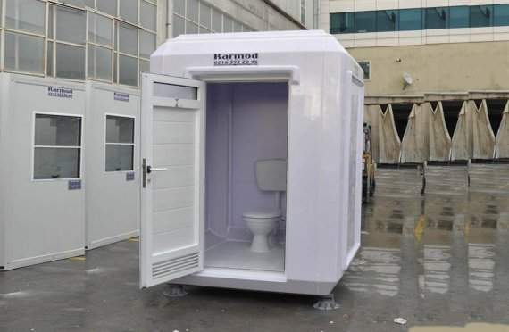 150x150 Portable Toilet & Shower Cabin