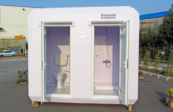 150x270 Portable Toilet & Shower Cabin