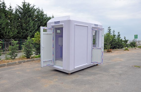 150x270 Portable Toilet & Security Cabin