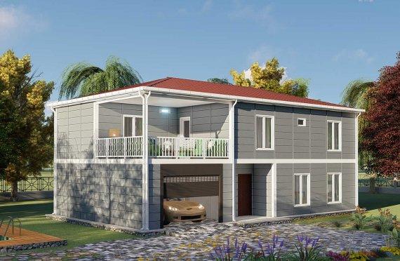 206 m2 Prefabric Villa