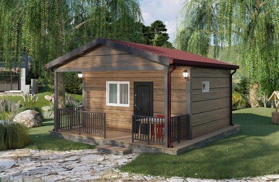 28 m2 Single Story Modular Home