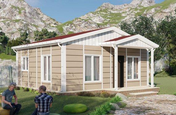 45 m2 Single Story Modular Home