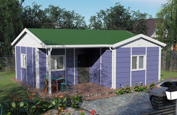 51 m2 Single Story Modular Home