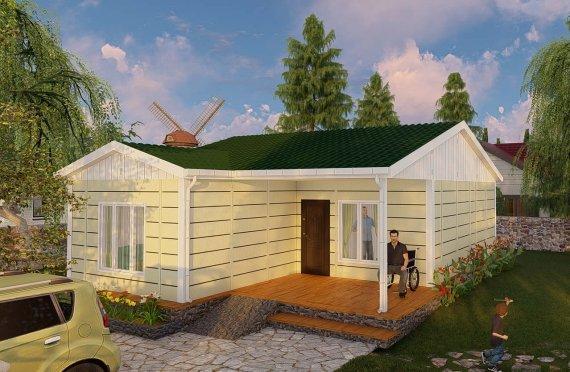 73 m2 Single Story Modular Home