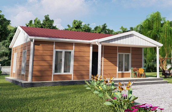 75 m2 Single Story Modular Home