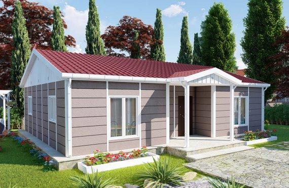 95 m2 Single Story Modular Home
