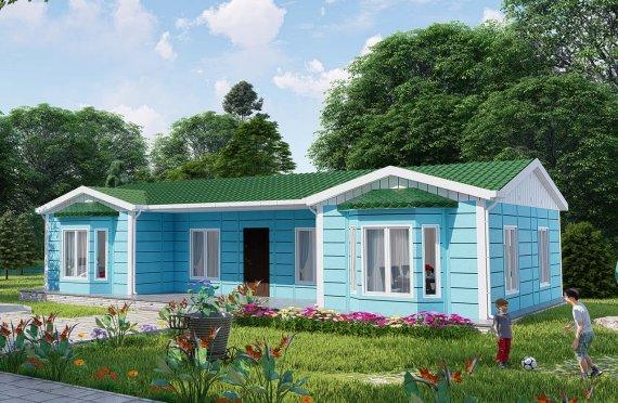 97 m2 Single Story Modular Home