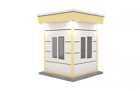 Modern Prefab Cabin 200x200