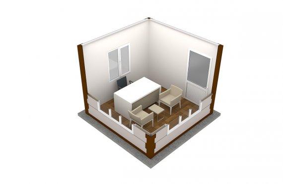 Modern Prefab Cabin 300x300