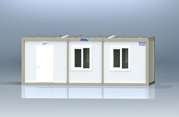 Flat Pack Office Container K1001