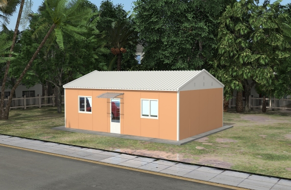 Modular Office Building 58 m²