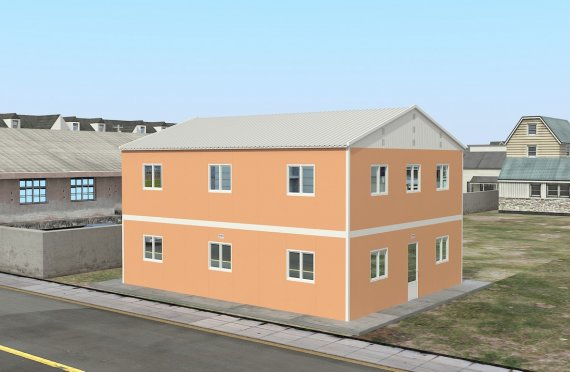 Modular Accommodation Unit 206 m²