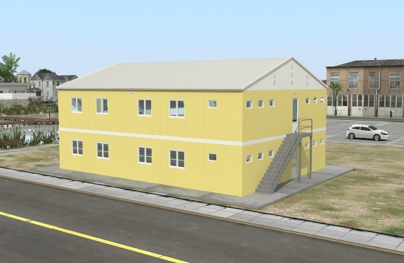 Modular Accommodation Unit 348 m²