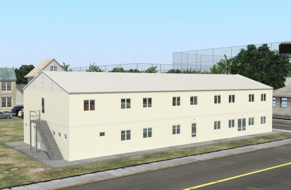 Modular Accommodation Unit 662 m²