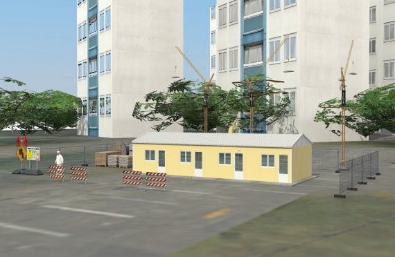 Modular Accommodation Unit 79 m²