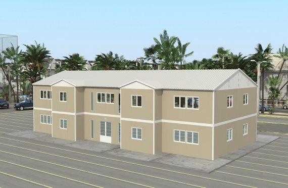 Modular Hospital 576 m²