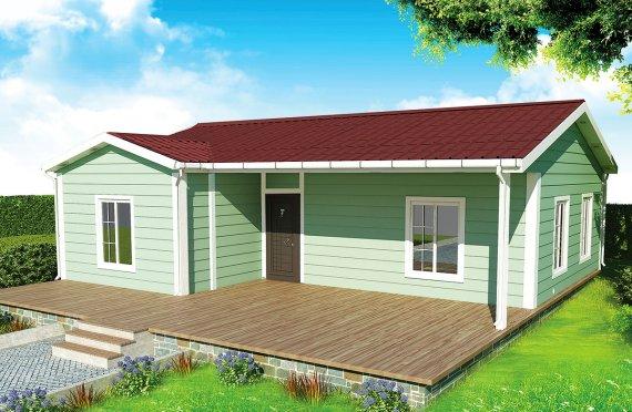 Prefab Home 86 m²