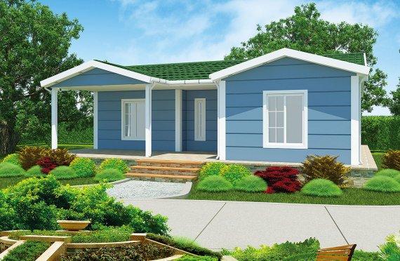 Prefab Home 87 m²