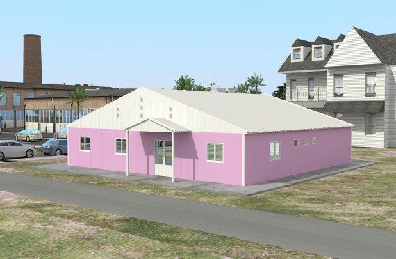 Modular Laboratory 222 m²