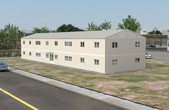 Modular Office Building 588 m²