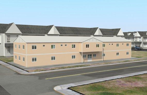 Modular Social Facility 793 m²
