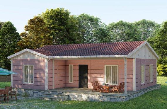 87 m2 Single Story Modular Home