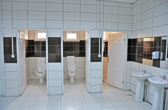 Prefabricated Toilet & Shower Buildings