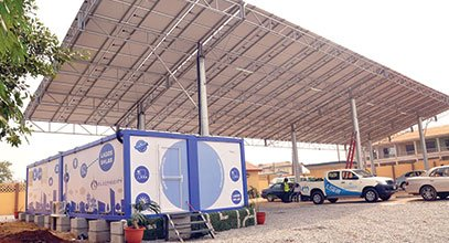 Karmod's new generation container is used for solar energy storage in Nigeria