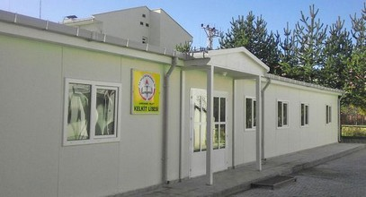Karmod has established a prefabricated high school building