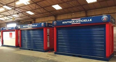 Karmod produced PSG Store Kiosks