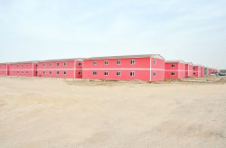 Prefabricated Housing Project in Baghdad  Iraq