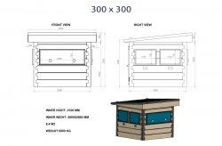 Bulletproof Cabin