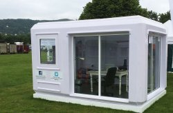 fibreglass security huts