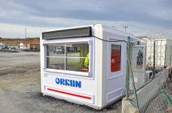 modular guard shack