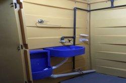 Portable polythene toilets